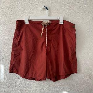 Patagonia Men's Board Shorts Swim Red Size 36